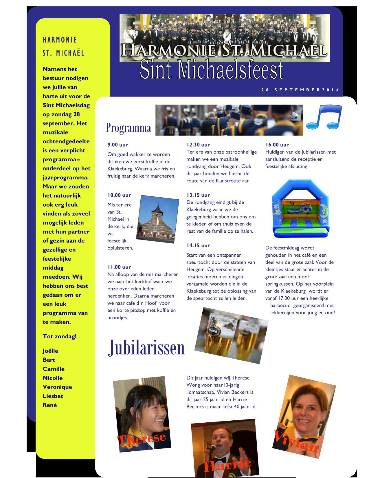 St. Michaelsfeest 2014
